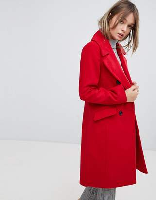 Oasis Tailored Double Breasted Coat