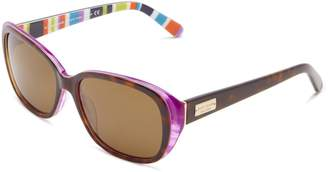 Kate Spade Hilde/P/S Hilde/P/S Polarized Cat Eye Sunglasses,Tortoise/Purple