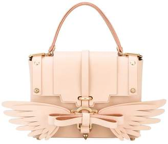 Niels Peeraer Saddle leather Wings 3PM handbag