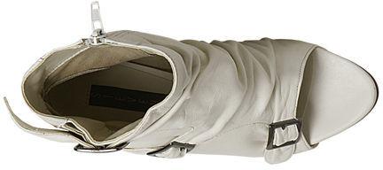 Slasssh White Leather