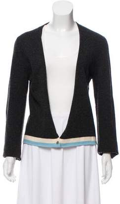 Chanel Cashmere Long Sleeve Cardigan
