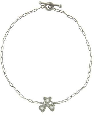 Cathy Waterman Diamond Wildflower Bracelet - Platinum