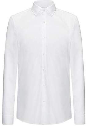 HUGO BOSS Slim-fit shirt in soft cotton