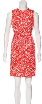 Tory Burch Sleeveless Print Dress