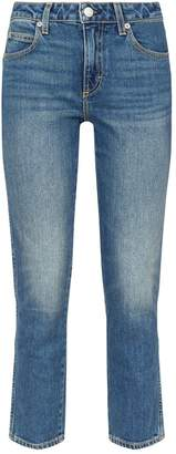 Amo Denim Kate Straight-Leg Jeans