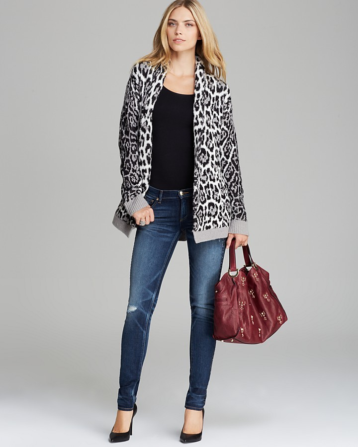 Juicy Couture Cardigan - Wild Lynx Jacquard