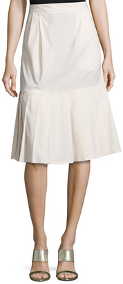 Paul Smith Pleat Hem A-Line Skirt