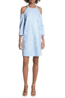 Ted Baker Cold Shoulder Shift Dress