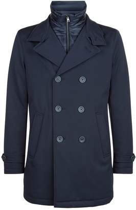 Herno Spa Overcoat with Gilet Insert