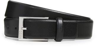 HUGO BOSS Gellot Grainy Leather Belt