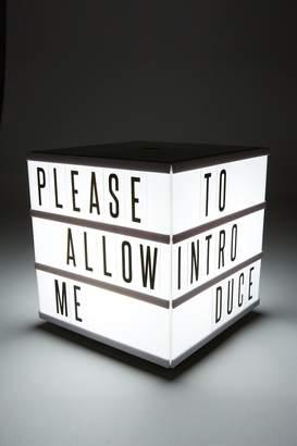 Cotton On Cube Light Box