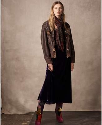 Ralph Lauren Hamlin Leather Bomber Coat