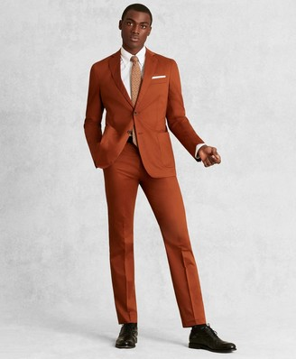 Brooks Brothers Golden Fleece Cotton Satin Suit