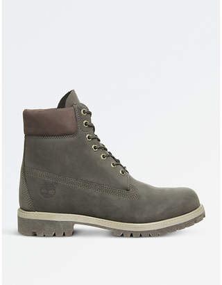 "Timberland Buck 6"" nubuck leather boots"