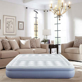Thomasville 12 Queen Lumbar Lift Ti-Zone Support Raised Air Bed Mattress with Express Pump