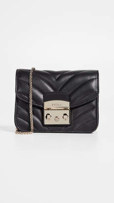 Furla Quilted Mini Metropolis Crossbody Bag