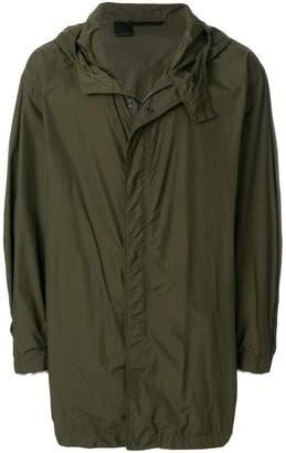 N. Hoolywood zip hooded coat