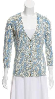 2ac7ce41c59e9c Pre-Owned at TheRealReal · Tory Burch Wool Printed Cardigan