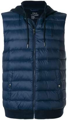Polo Ralph Lauren padded hooded gilet