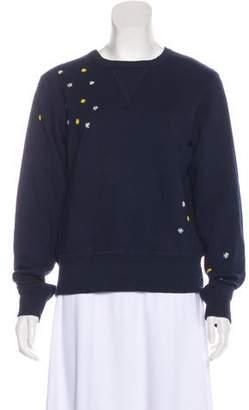 Adam Selman Lightweight Long Sleeve Sweater