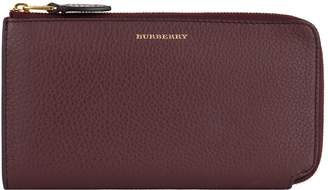 Burberry Grained Leather Wallet