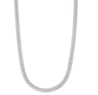 Men's Sterling Silver Herringbone Chain