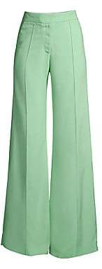 Derek Lam Women's Flared Pintuck Pants