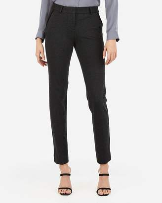 Express Mid Rise Piped Columnist Ankle Pant