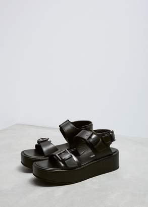 Ann Demeulemeester Flatform Sandals