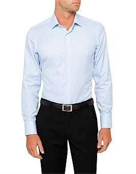 Canali Geometric Single Cuff Shirt