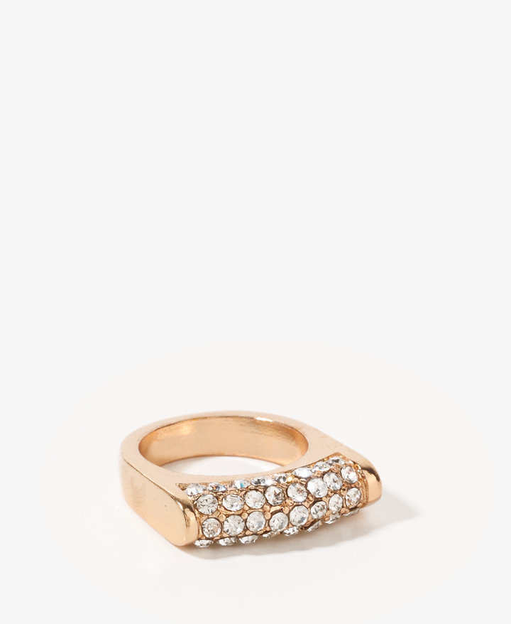 FOREVER 21 Rhinestoned Ring