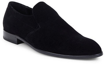 Hugo Boss Hugo Boss Almond-Toe Textured Loafers