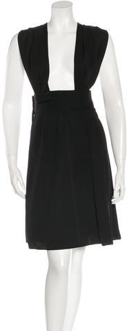 Marc Jacobs Marc Jacobs Pleated Cutout Dress