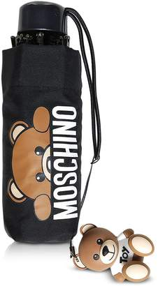 Moschino Hidden Teddy Bear Black Supermini Umbrella