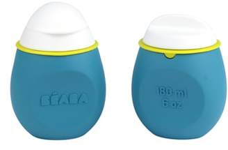 Beaba Babysqueez' 2-Pack Reusable Silicone Food Pouch