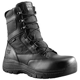 Timberland Men's 8 Inch Valor Soft Toe Waterproof Side Zip Work Boot