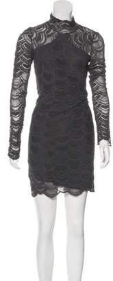 Nightcap Clothing Lace Mini Dress