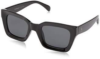 Morgan A.J. Sunglasses Unisex-Adult Potent 59164-BLK Round Sunglasses