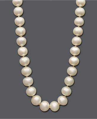 Belle de Mer Cultured Freshwater Pearl Strand Necklace (10-1/2-11-1/2mm) in 14k Gold