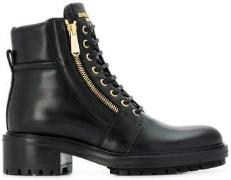 Balmain lace-up ankle boots