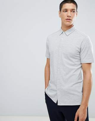 For FoR Short Sleeve Jersey Shirt In Grey