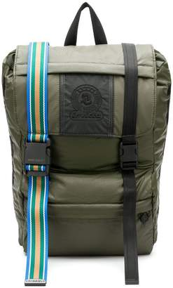 Invicta contrast buckle backpack