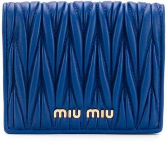 Miu Miu small matelassé wallet