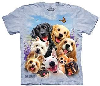 The Mountain Men's Dog Selfie T-Shirt Children's