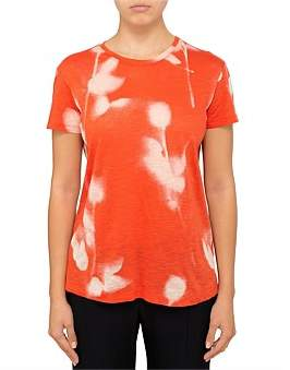 Proenza Schouler Short Sleeve Top-Printed Tissue Jersey