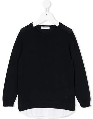 Paolo Pecora Kids classic long-sleeve sweater