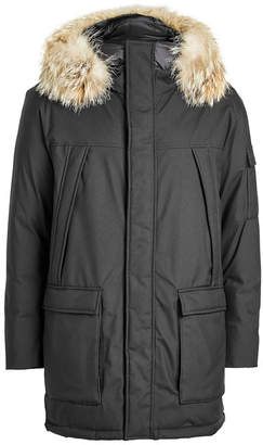 Woolrich Teton Explorer Down Parka with Fur-Trimmed Hood
