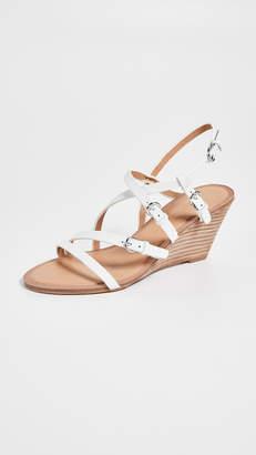 Sigerson Morrison Maia Demi Wedges Sandals