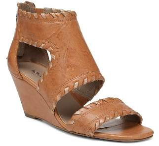 Donald J Pliner Women's Sami Vintage Leather Wedge Sandals
