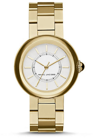 Marc Jacobs Marc Jacobs Courtney Goldtone Stainless Steel Bracelet Watch